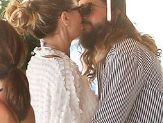 Heidi Klum and Husband Tom Kaulitz Can't Keep Their Hands Off Each Other After 2nd Wedding
