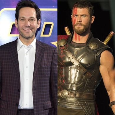 Paul Rudd Says There's No Point Competing With Chris Hemsworth's Body