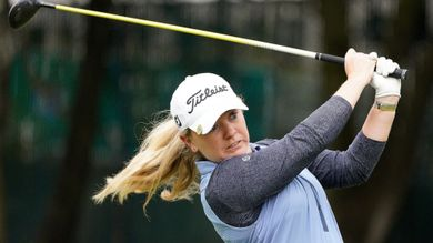 Kim overcomes rough start to win playoff at Lake Merced