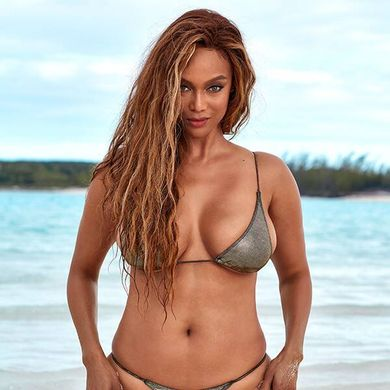 Tyra Banks Gets Real About Body Image and Ice Cream While Reflecting on Sports Illustrated Swimsuit Cover