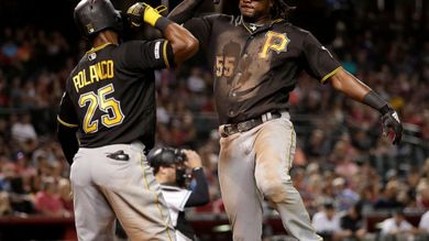 Bell homers twice to lead Pirates past Diamondbacks 6-2