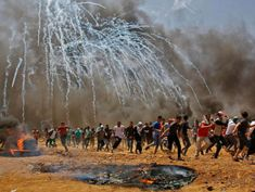 At least 41 die in massive Palestinian protests, bloodiest day in Gaza since 2014 war