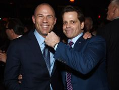Show Starring Avenatti and Scaramucci Is Being Pitched to Television Executives