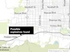 Possible explosives found during traffic stop in Woodland Hills, spurring evacuations