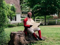Portraying 18th-Century Black Men in Colonial Williamsburg