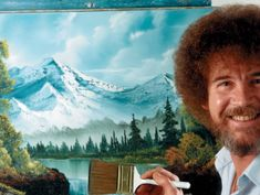 Can't Sleep? Let Bob Ross Help You Find Some Happy Little Zzzs