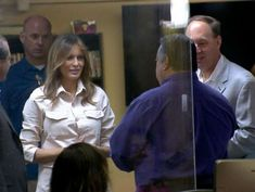 First lady makes unannounced visit to Texas to see migrant children