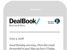 Subscribe to Our DealBook Newsletter