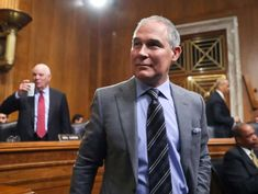 Trump tweets that EPA chief Scott Pruitt has resigned