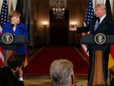 Steady drum of Trump's anti-Germany remarks raises questions
