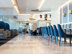 Luxury Lounge Wars Heat Up as Airlines Vie for High-End Passengers