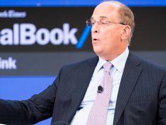 Prolonged Trade War Could Set Off a Market Slide, BlackRock's Fink Says