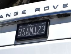 The Ordinary License Plate's Days May Be Numbered