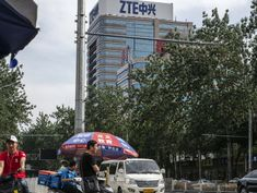 Faced With Crippling Sanctions, ZTE Loaded Up on Lobbyists