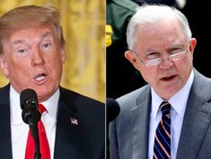 Trump steams at Attorney General Jeff Sessions