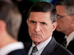 Former Trump aide Michael Flynn, who has been laying low, makes rare public speech