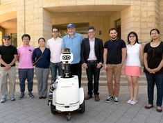 'Jackrabbot 2' takes to the sidewalks to learn how humans navigate politely