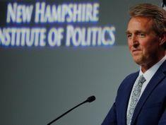 Flake concerned by Kavanaugh's 'partisan' interactions at Senate hearing