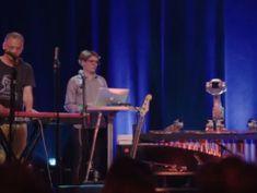 Watch Shimon the marimba-playing robot play along to jazz, reggae, and hip hop