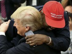 Kanye West on why he backs Trump at free-wheeling, at times bizarre White House event