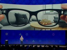 Facebook confirms it's building augmented reality glasses