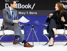 Mary Barra Says G.M. Is 'on Track' to Roll Out Autonomous Vehicles Next Year