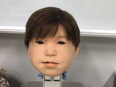 Affetto is the wild boy head robot of your nightmares