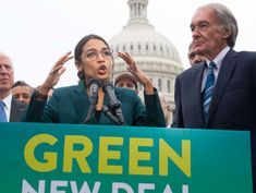 Ocasio-Cortez, Democrats propose 'Green New Deal' to counter climate change