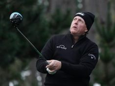 Golf: Mickelson, Spieth among leaders at soggy Pebble Beach