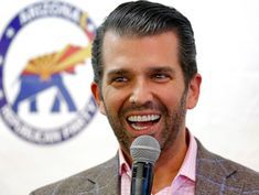 Trump Jr. applauds racist Native American jokes, sarcastically calls father 'savage'
