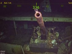 Paul Allen's Petrel research vessel finds the USS Hornet, 76 years after sinking