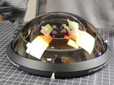 This custom 'hyperfisheye' lens can see behind itself
