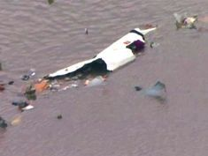 Cargo jet crashes into bay near Houston, Texas: Officials