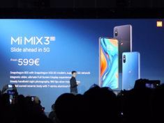 Xiaomi announces its first 5G phone, the Mi Mix 3 5G