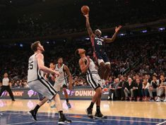 NBA roundup: Knicks wallop Spurs to end 18-game home skid