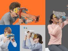 Nintendo jumps into virtual reality with latest Labo cardboard kits