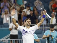 Djokovic beats Delbonis, stays on track for seventh Miami title