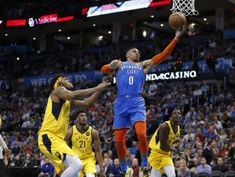 NBA roundup: 24-point run lifts Thunder over Pacers