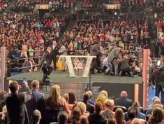 WWE legend attacked by audience member during Hall of Fame speech