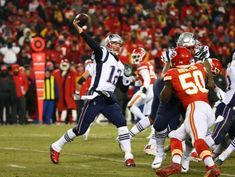 Man cited for aiming laser at Brady in AFC title game