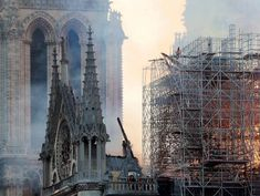 The Latest: Notre Dame's organ survives the fire
