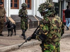 Sri Lanka bombing suspects exchange gunfire with soldiers, police say