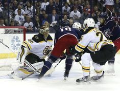 Rask, Bruins close out Jackets in Game 6