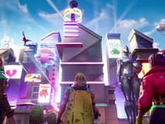 Fortnite Season 9 adds two locations and wind transport, but is mostly just new virtual items