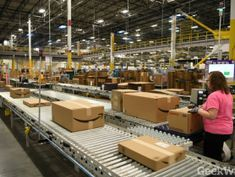 Amazon rolling out package-packing machines that could automate warehouse jobs