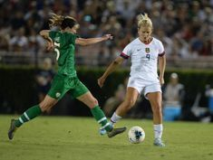 U.S. women cruise to 3-0 win over Ireland in stateside return