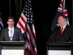 U.S. says China destabilizing Indo-Pacific: Pentagon chief