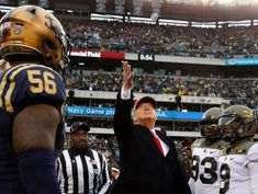 At Army-Navy game, Trump touts new pro sports option