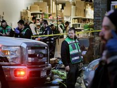 Note in pocket of gunman in Jewish deli massacre leads to pawnshop owner's arsenal