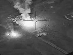 Video shows aftermath of US strike in Iraq amid concerns violence could escalate